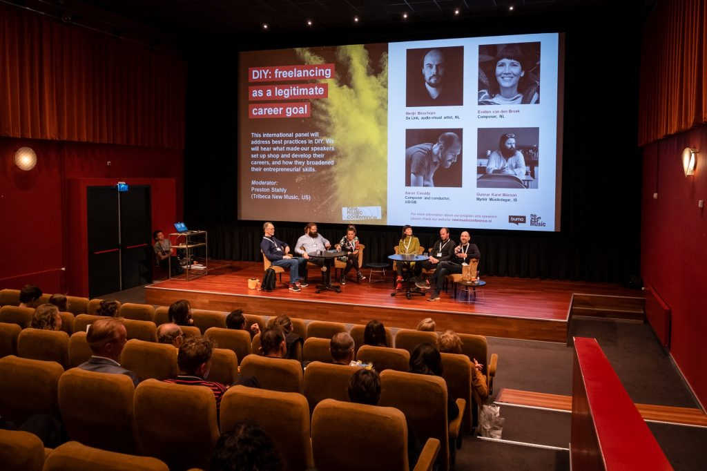 New Music Conference 2019 – Buma Cultuur / November Music